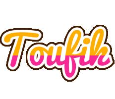 Toufik smoothie logo