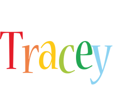 Tracey birthday logo