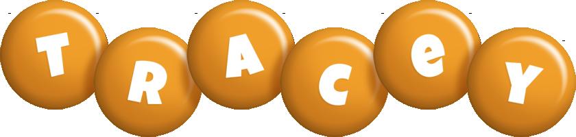 Tracey candy-orange logo