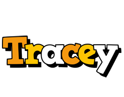 Tracey cartoon logo