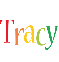 Tracy birthday logo