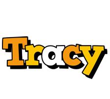 Tracy cartoon logo