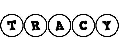 Tracy handy logo
