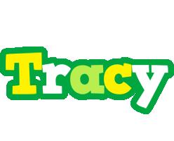 Tracy soccer logo