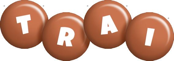 Trai candy-brown logo
