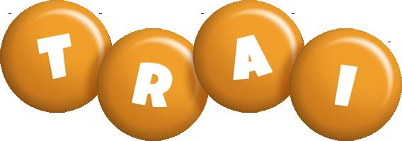 Trai candy-orange logo