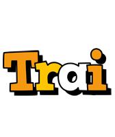 Trai cartoon logo