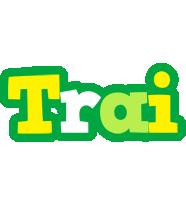 Trai soccer logo