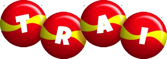 Trai spain logo