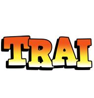 Trai sunset logo