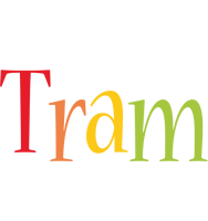Tram birthday logo