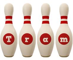 Tram bowling-pin logo
