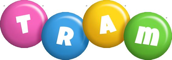 Tram candy logo