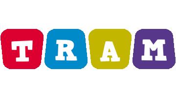 Tram daycare logo