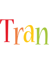 Tran birthday logo