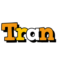 Tran cartoon logo