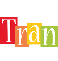 Tran colors logo