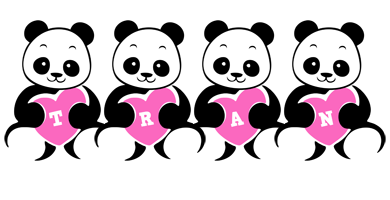 Tran love-panda logo