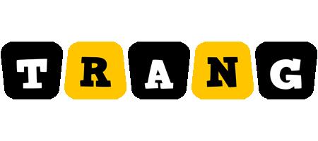 Trang boots logo