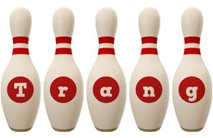 Trang bowling-pin logo