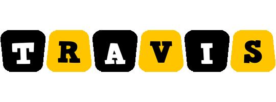 Travis boots logo