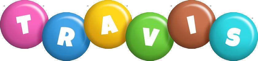 Travis candy logo
