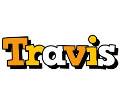 Travis cartoon logo