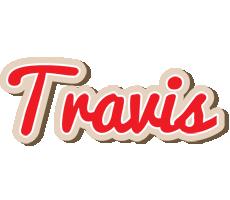 Travis chocolate logo
