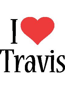 Travis i-love logo