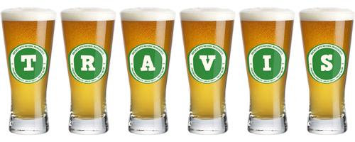 Travis lager logo