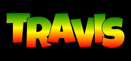 Travis mango logo