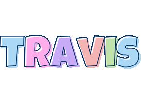 Travis pastel logo