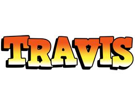 Travis sunset logo
