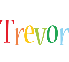 Trevor birthday logo