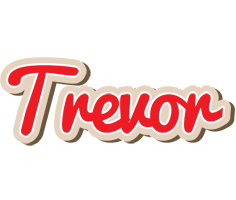 Trevor chocolate logo
