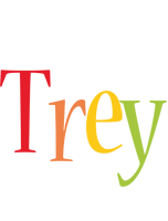 Trey birthday logo