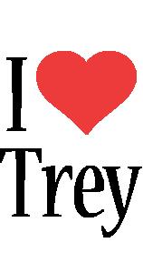 Trey i-love logo