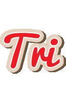 Tri chocolate logo