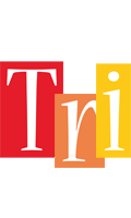 Tri colors logo