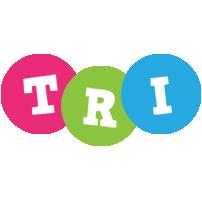 Tri friends logo