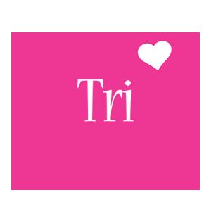 Tri love-heart logo