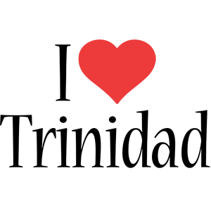 Trinidad i-love logo