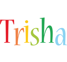 Trisha birthday logo