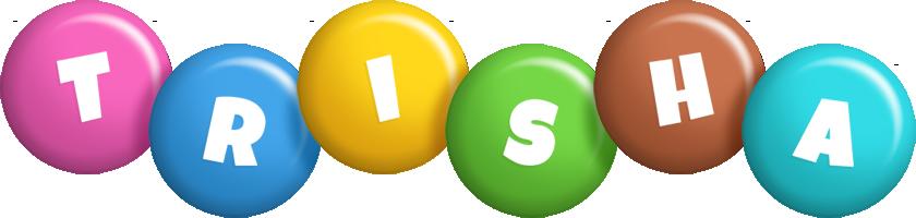 Trisha candy logo
