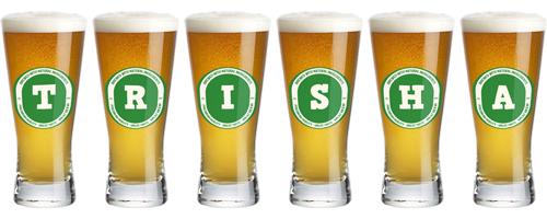Trisha lager logo