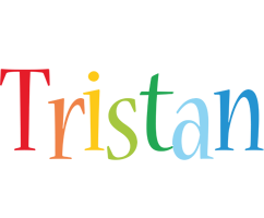 Tristan birthday logo