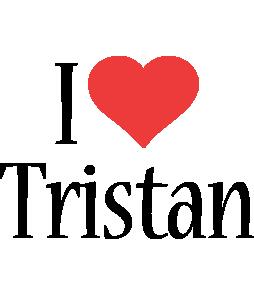 Tristan i-love logo
