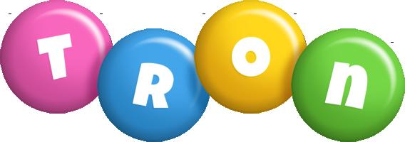 Tron candy logo