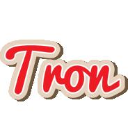 Tron chocolate logo