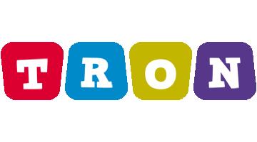 Tron daycare logo